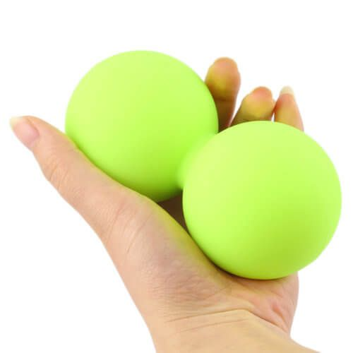 Self massage double lacrosse balls