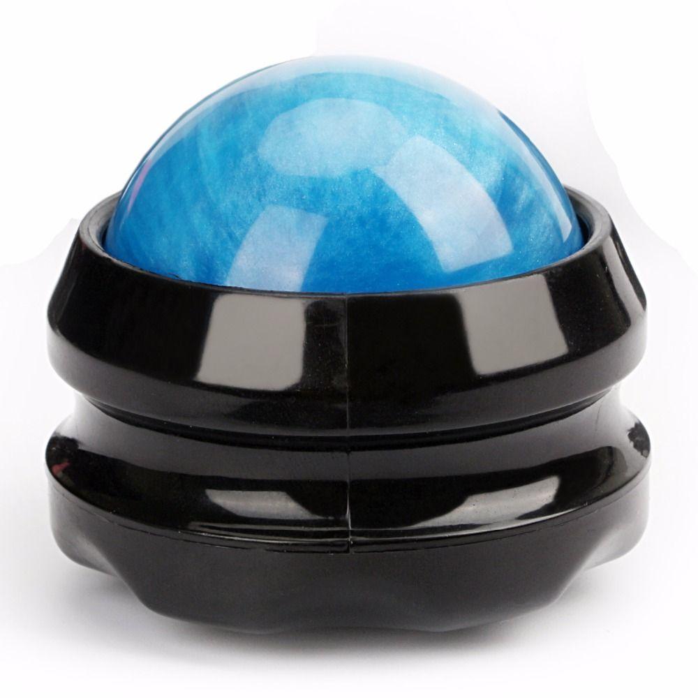 Rolling ball body massager