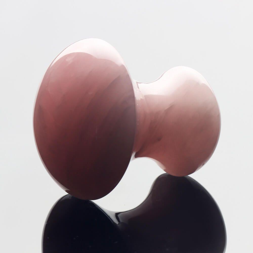 Massage stone in natural quartz