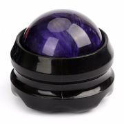 Rolling ball body massager
