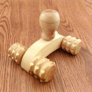 Miniature wooden roller